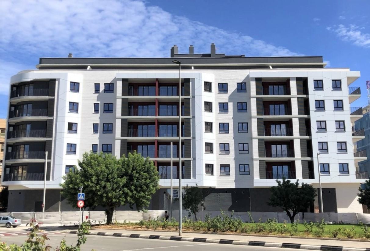 Finalizada la obra del Edificio Área: entregamos viviendas este mes